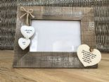 Shabby personalised Chic Photo Frame Auntie Aunty Great Aunt Gift  Present - 232651355079
